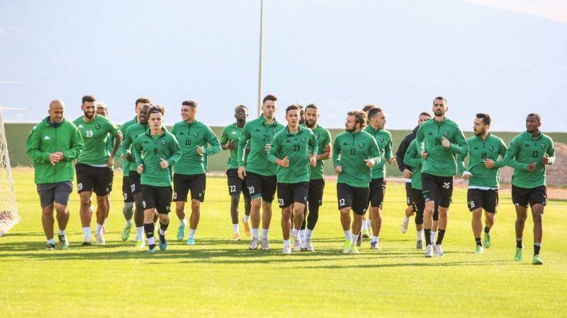 Kocaelispor, İstanbulspor maçına hazırlanıyor