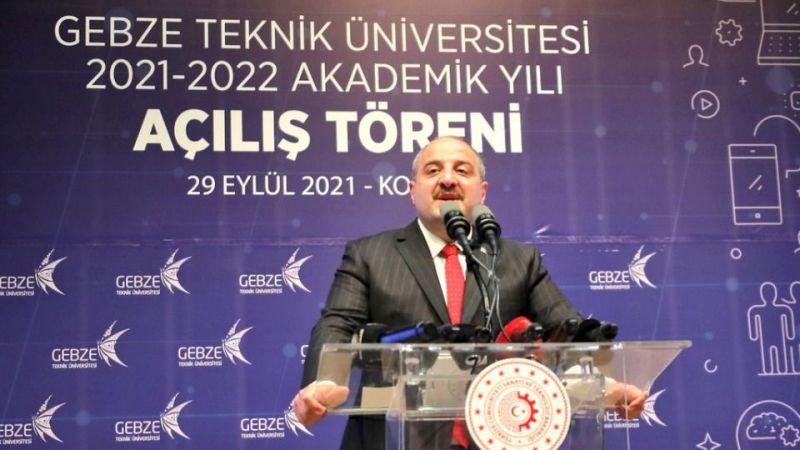 """Bakan Varank, GTÜ akademik yılı açılışında konuştu: """"Hep beraber daha büyük işlere imza atalım"""""""