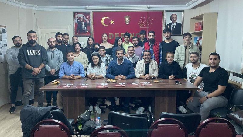 CHP Derince'de gençler nihayet toplanabildi