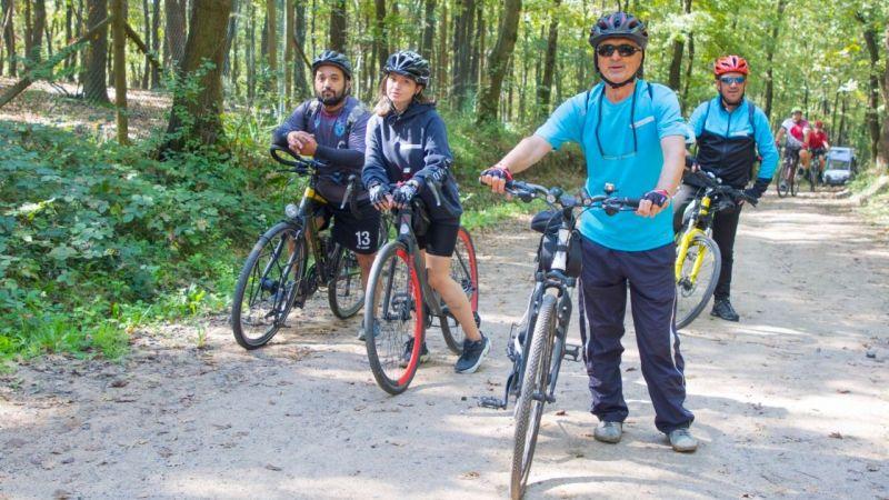 Dünya Turizm Gününde Kocaeli'nin güzellikleri bisikletle keşfedildi