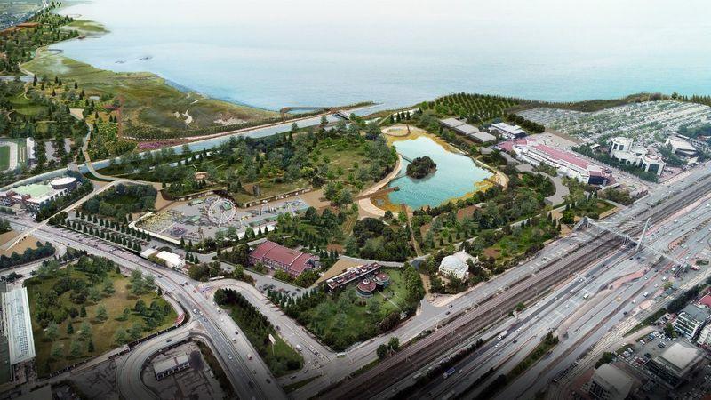 İzmit Millet Bahçesi'nin uygulama proje yapımı başladı