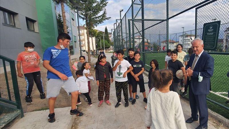 Başkan Aygün, gençlerle buluştu