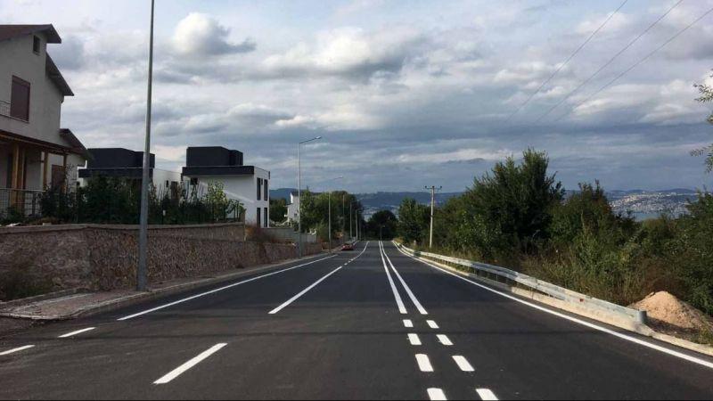 Beyoğlu ve Kirazlıbahçe caddelerinde yol çizgileri çizildi