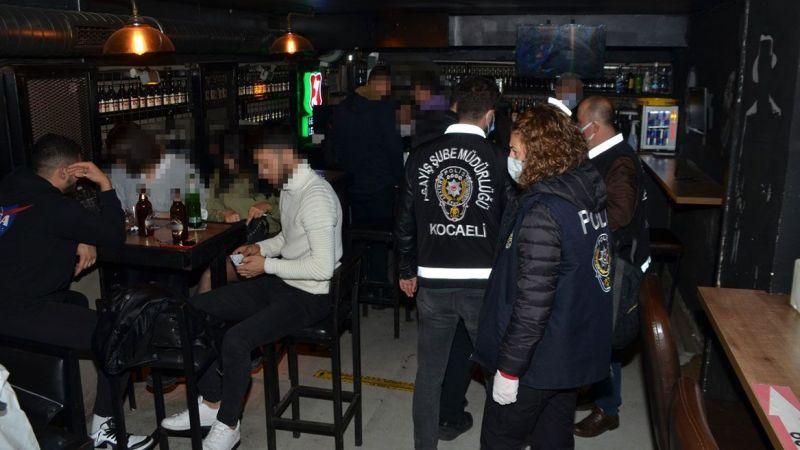 Barlar Sokağı'nda polis denetimi