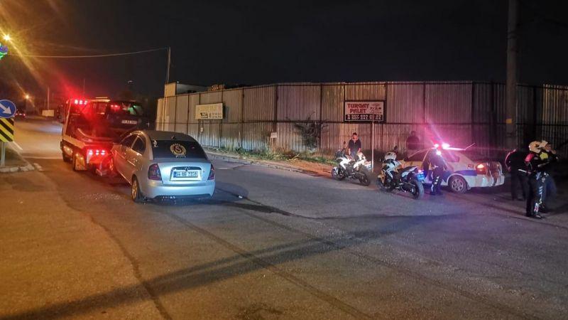 Kazaya karıştı ortaya çıktı: Akıllanmayan sürücü ikinci defa alkolden ehliyetini kaptırdı