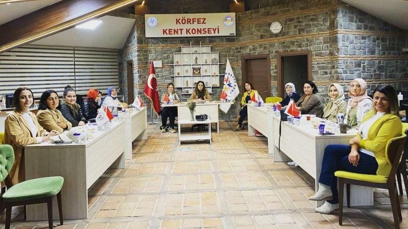 Körfez Kadın Meclisi ilk toplantısını yaptı