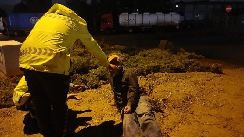 Kaza yapan alkollü sürücünün ehliyetine el konuldu