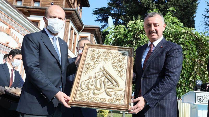 """Bilal Erdoğan Kocaeli'ye geldi: """"Kurumlarımızın hedef alınmasının bir sebebi var"""""""