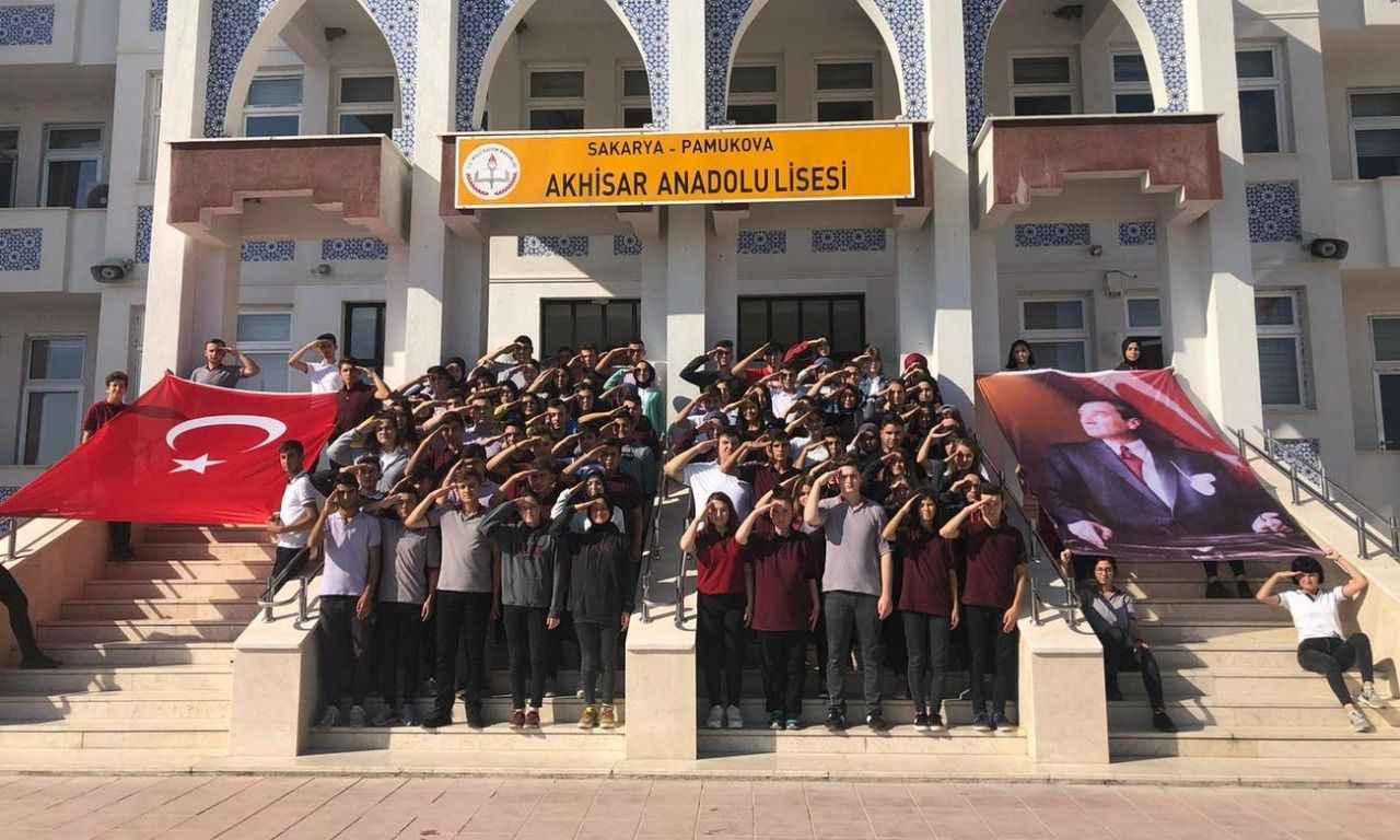 """Öğrencilerden """"Barış Pınarı Harekatı """" na anlamlı destek.."""