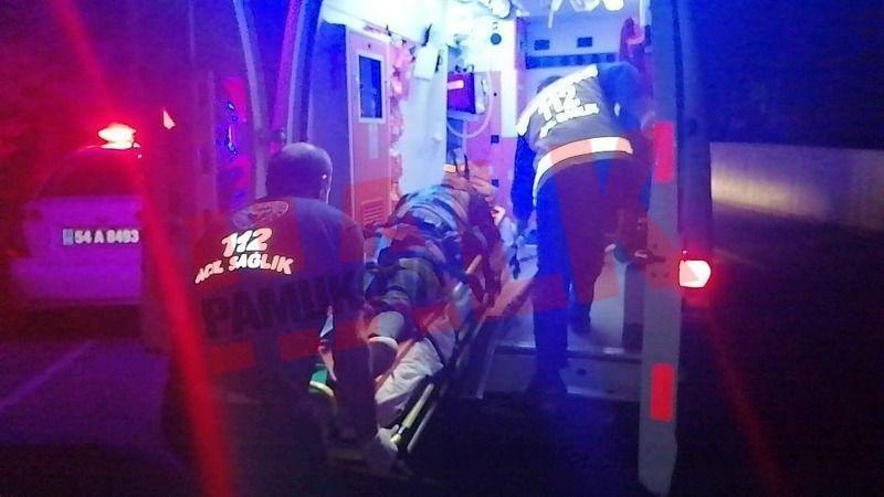 Motosiklet ağaca çarptı! 16 yaşındaki genç ağır yaralandı..