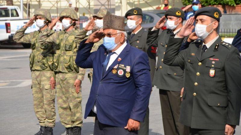 Gaziler Günü Pamukova'da törenle kutlandı..
