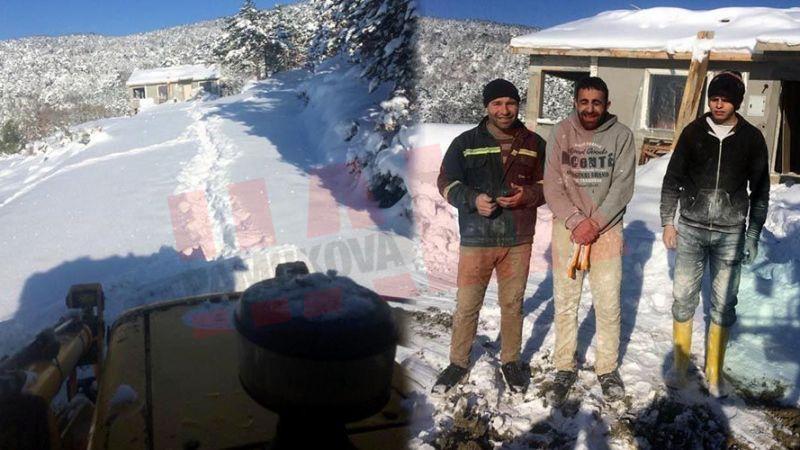 Pamukova da yaylada kardan mahsur kaldılar! 3 gün sonra kurtarıldılar