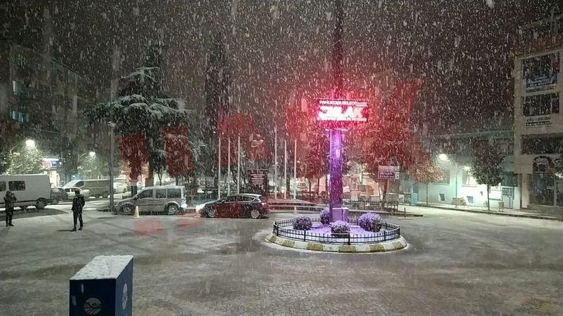Akşam saatlerinde kar yağışı bekleniyor!