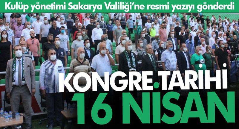 Sakaryaspor'da kongre tarihi belli oldu