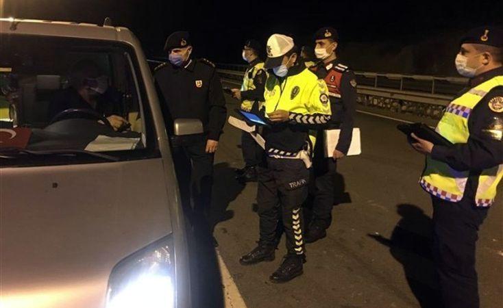 Jandarmadan Pamukova-Osmaneli karayolunda sıkı denetim