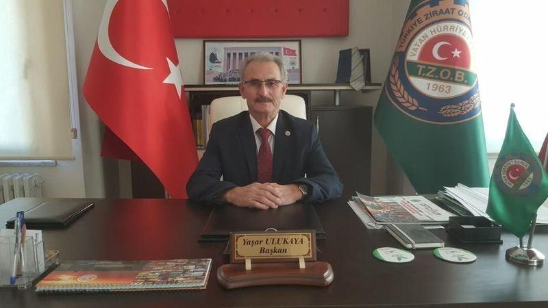 Ziraat Odası Başkanı Yaşar Ulukaya'dan Dünya Çiftçiler Günü kutlama mesajı..
