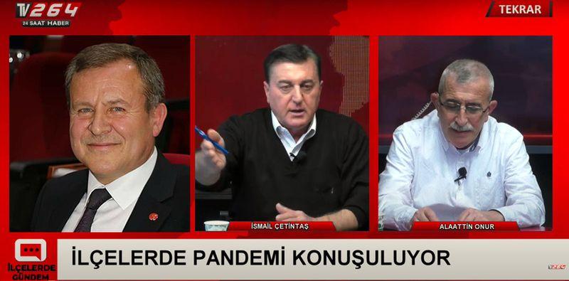 Bugün TV264'te İlçelerde Gündem Programının konuğu Ahmet Şen ..