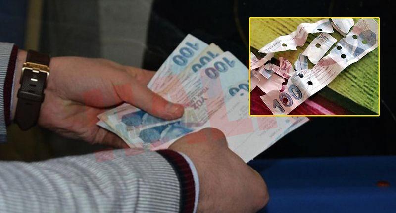 Paranın sahte olduğunu bankaya gidince anladı..!