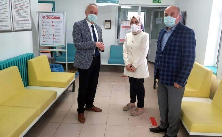 Sakarya İl Sağlık Müdürü Öğütlü, Pamukova'da incelemelerde bulundu