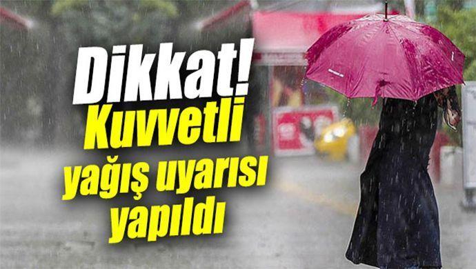 SASKİ'den kuvvetli yağış uyarısı!