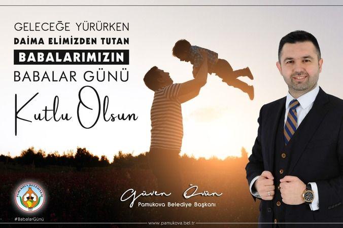 Başkan Övün'den Babalar Günü kutlama mesajı...
