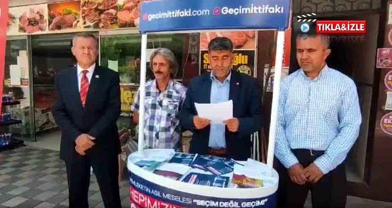 """Pamukova Saadet Partisinden """" Geçim İttifakı """" açıklaması"""