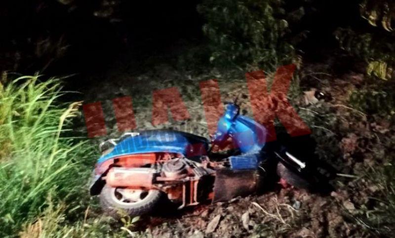 Pamukova Ahılar Mahallesinde motosiklet kazası 2 yaralı!