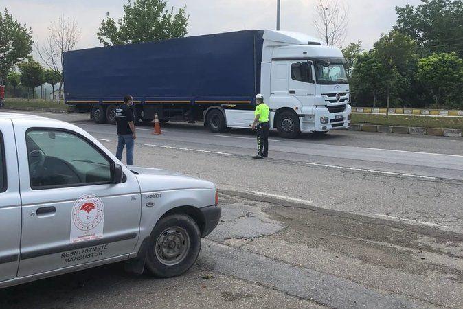 Kurban Bayramı öncesi İlçe Tarım Müdürlüğü yol kontrollerini sıklaştırdı