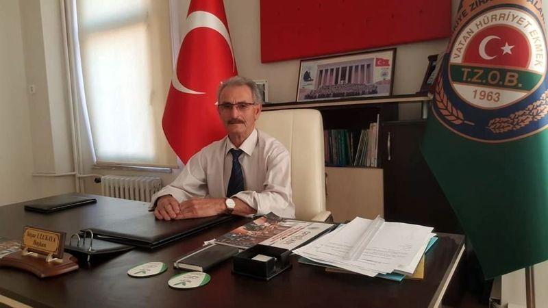 Ziraat Odası Başkanı Ulukaya'dan Kurban Bayramı kutlama mesajı