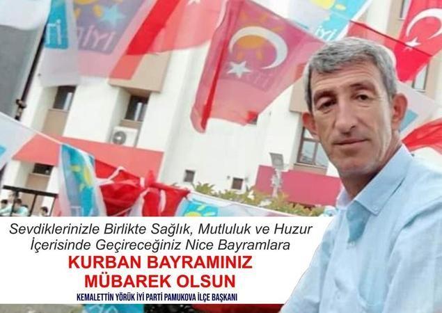 İYİ Parti'den Kurban Bayramı Kutlama mesajı...