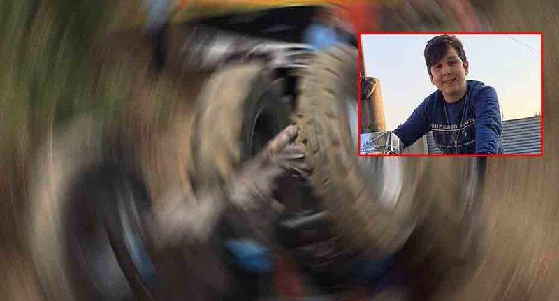 Pamukova'da 14 yaşındaki Semih takla atan traktörün altında kalarak can verdi...