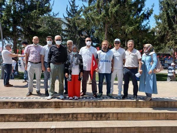 """Türk Sağlık-Sen İlçe Temsilcisi Sözen, """"Revize edilmiş yeni bir teklif bekliyoruz"""""""