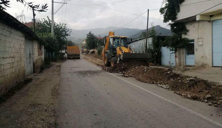Pınarlı Mahallesine yeni içme suyu hattı