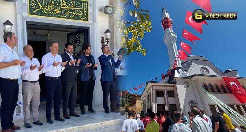 Hüseyinli Cami 2 buçuk yılda tamamlandı… Muhteşem bir törenle açıldı