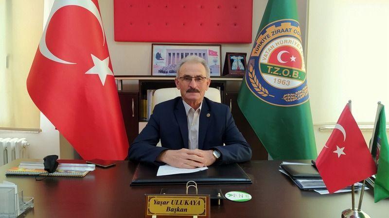 Ziraat Odası Başkanı Ulukaya'dan 30 Ağustos Zafer Bayramı mesajı...