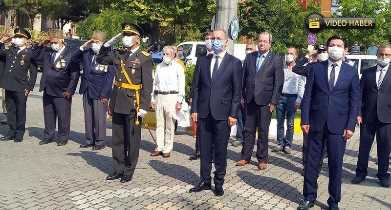 Pamukova'da 30 Ağustos Zafer Bayramı törenle kutlandı...