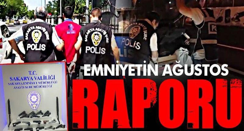 Emniyet Ağustos'ta suçlulara göz açtırmadı!