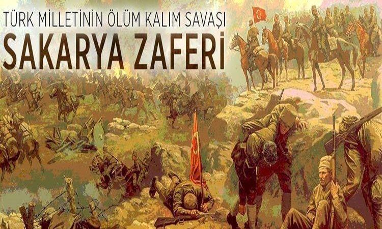Başkan Övün'den Sakarya Zaferi'nin 100'üncü yılını kutlama mesajı..