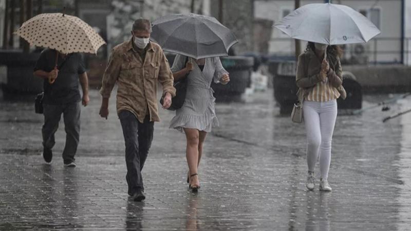 Bugün ve yarın yağış bekleniyor...