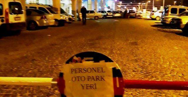 Eyyübiye Devlet Hastanesi'nde park sıkıntısı mı yaşanıyor?