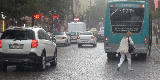 Müjde…Şanlıurfa'ya yağmur geliyor