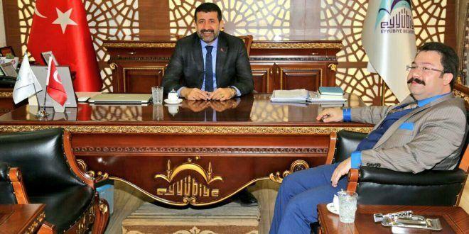 OSB Müdürü Aksu'dan, Başkan Ekinci'ye ziyaret