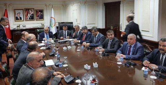 Ziraat Oda Başkanları sorunlarını Fakıbaba'ya iletti