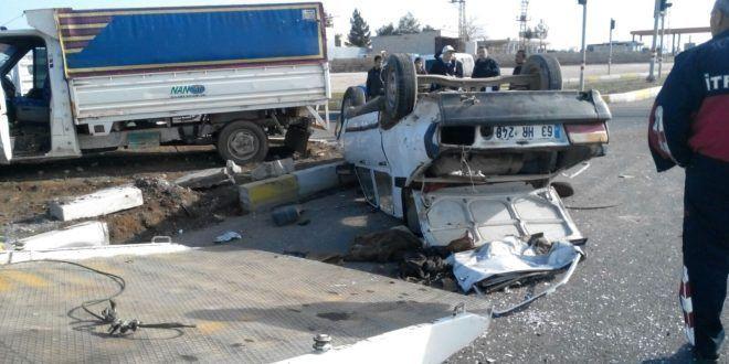 Şanlıurfa'da kaza:3 yaralı