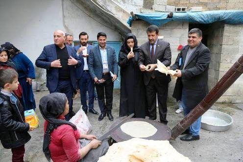 Başkan Ekinci, Eyyübiye'deki çat kapı ziyaretlerini sürdürüyor