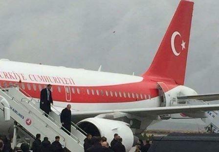 Cumhurbaşkanı Erdoğan Şanlıurfa'ya indi
