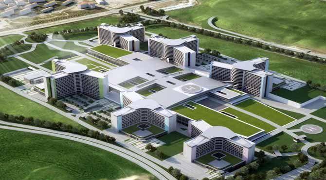 Erdoğan şehir hastanesinin ne zaman biteceğini açıkladı