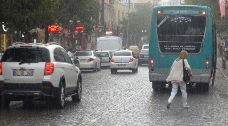 Urfa'ya son haftada ne kadar yağış düştü?