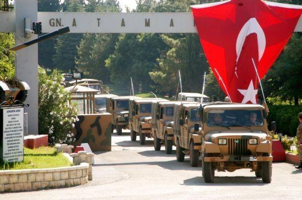 Şanlıurfa'nın sınır ilçelerine askeri sevkiyat