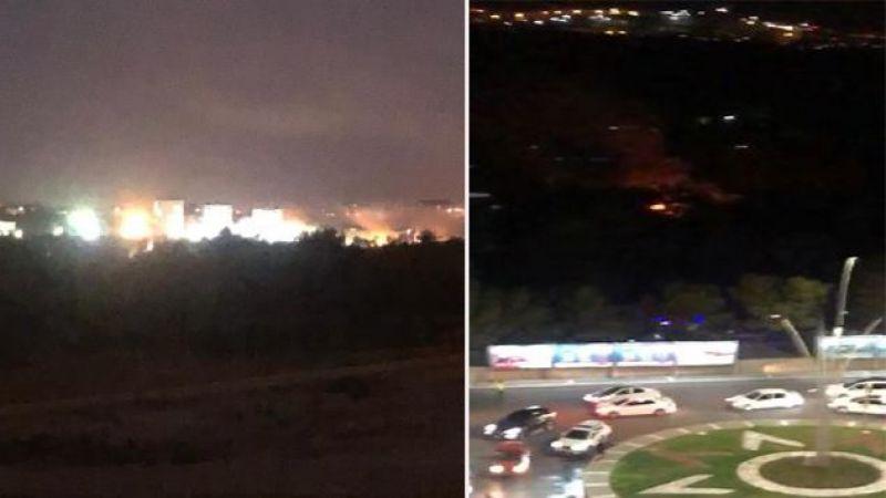 FLAŞ …  Tugayda 2 şiddetli patlama (VİDEO)